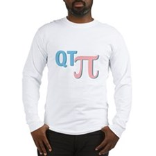 QT Pi (Cutie Pie) Long Sleeve T-Shirt