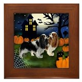 CAVALIER KING CHARLES SPANIEL DOGS Framed Tile