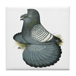 English Trumpeter Spangle Tile Coaster
