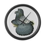 English Trumpeter Spangle Large Wall Clock