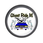 Ghost Ride It Wall Clock