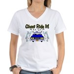 Ghost Ride It Women's V-Neck T-Shirt
