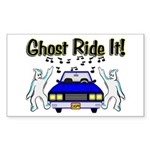 Ghost Ride It Rectangle Sticker 50 pk)