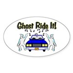Ghost Ride It Oval Sticker (50 pk)