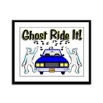 Ghost Ride It Framed Panel Print
