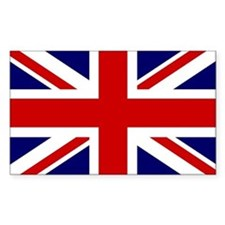Union Jack/UK Flag Rectangle Decal