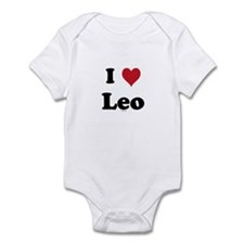 I love Leo Infant Bodysuit
