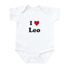 I love Leo Onesie