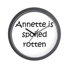 Cute Annette Wall Clock