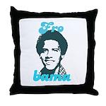 FROBAMA Throw Pillow