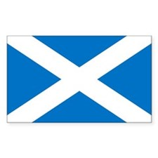 Scotland - St Andrews Cross - Sticker (Rectangular