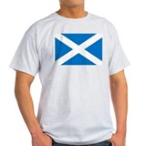 Scotland - St Andrews Cross - Ash Grey T-Shirt