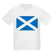 Scotland - St Andrews Cross - Kids T-Shirt