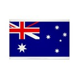 Flag of Australia Rectangle Magnet