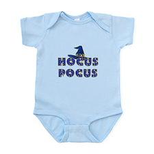 Hocus Pocus Witches Hat Blue Infant Bodysuit