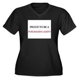 Proud to be a Purchasing Agent Women's Plus Size V