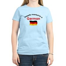 Happily Married To German 2 T-Shirt