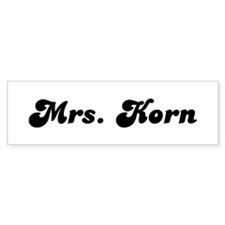 Mrs. Korn Bumper Sticker (10 pk)