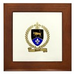 DEVOST Family Crest Framed Tile