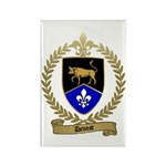 DEVOST Family Crest Rectangle Magnet (100 pack)