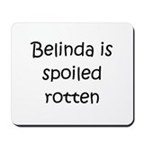 Cool Belinda Mousepad
