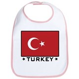 Flag of Turkey Bib