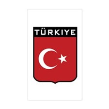 Turkiye Rectangle Decal
