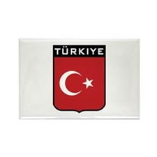 Turkiye Rectangle Magnet
