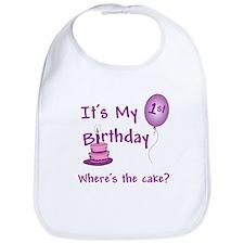 Unique Birthday Bib