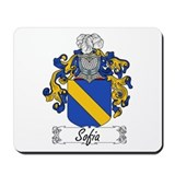 Sofia Family Crest Mousepad