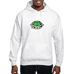 Green Shell Hooded Sweatshirt