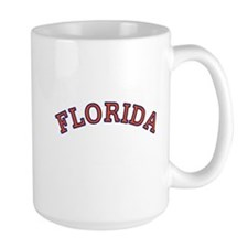 Orange and Blue Florida Mug