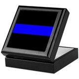 The Thin Blue Line Keepsake Box