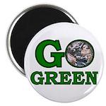 """Go Green 2.25"""" Magnet (10 pack)"""