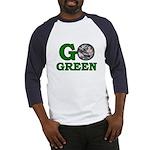 Go Green Baseball Jersey