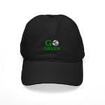 Go Green Black Cap
