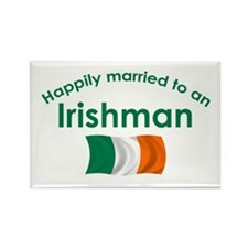 Happily Married Irish 2 Rectangle Magnet