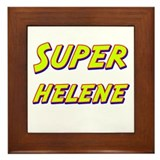 Super helene Framed Tile