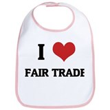 I Love Fair Trade Bib