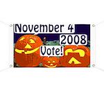 Halloween Pumpkins: Vote! Banner