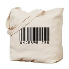 Underwriter Barcode Tote Bag