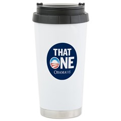 Obama THAT ONE Nashville 2008 Ceramic Travel Mug