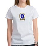 DENEAU Family Crest Women's T-Shirt