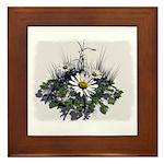 DAISY ART Framed Tile