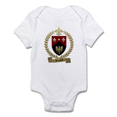 DAUPHIN Family Crest Infant Creeper