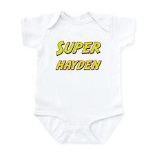 Super hayden Infant Bodysuit