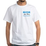 Joe King White T-Shirt