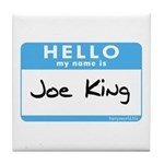 Joe King Tile Coaster