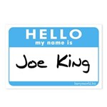 Joe King Postcards (Package of 8)