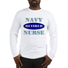 Retired Navy Long Sleeve T-Shirt